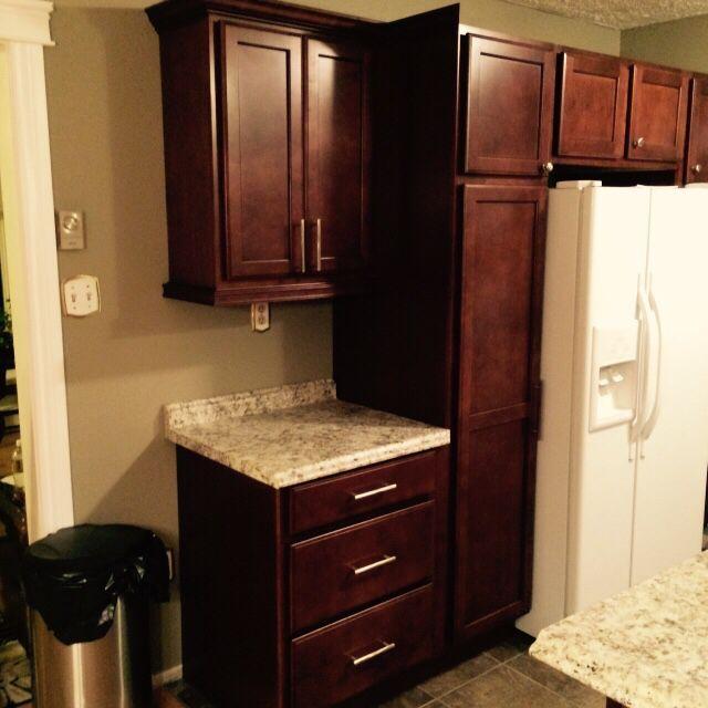 Notice the light rail | New kitchen, Countertops, Kitchen