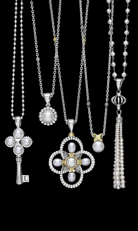 Modern. Boheme. Natural. Classic. Endless pearl options