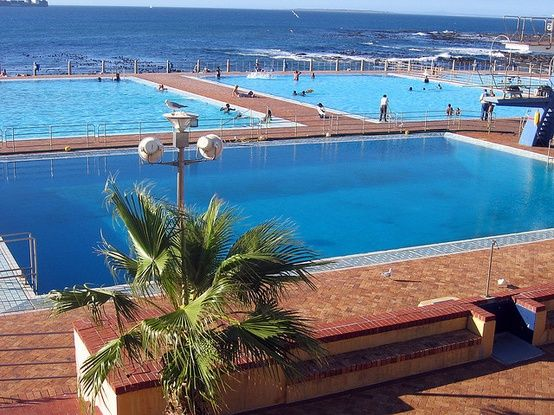 Huge Swimming Pools At Sea Point Cape Town South Africa Sea Point Is One Of Cape Town 39 S Most