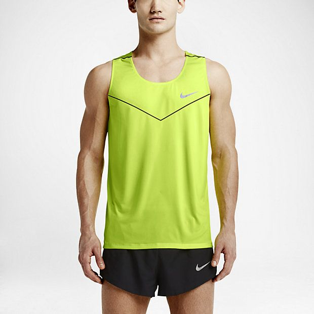 983dab820 Nike Racing Sleeveless Men's Running Shirt | Male Fitness Clothing ...