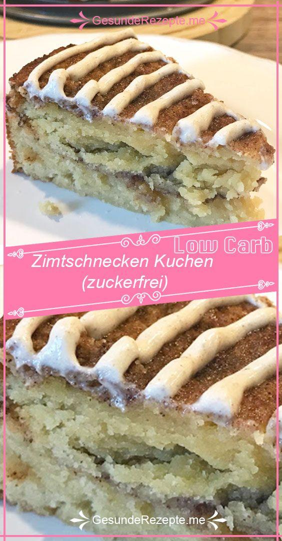 Zimtschnecken Kuchen (zuckerfrei) #cinnamonsugarcookies