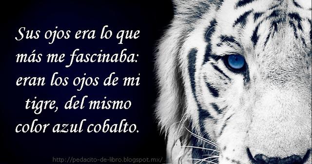 Pedacito de libro: La Maldición Del Tigre # 5