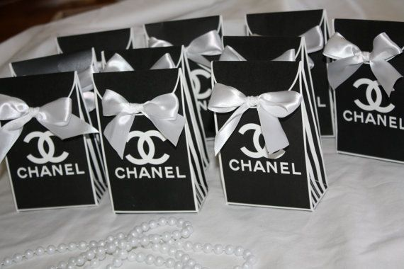 d02c3066b4d10d Chanel inspired favor bag By Sprinkled With by sprinkledwithlaughs, $25.00