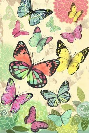 Butterfly Flight Vert by Jennifer Brinley   Ruth Levison Design