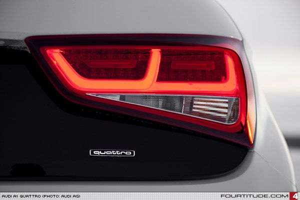Audi A1 Quattro Led Taillight Photo By Audi Ag Audi A1