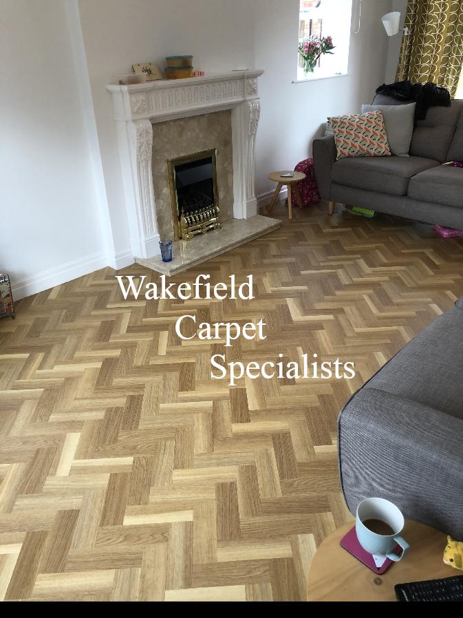 Brushed Oak Herringbone Lvt Supplied And Ed By Wakefield
