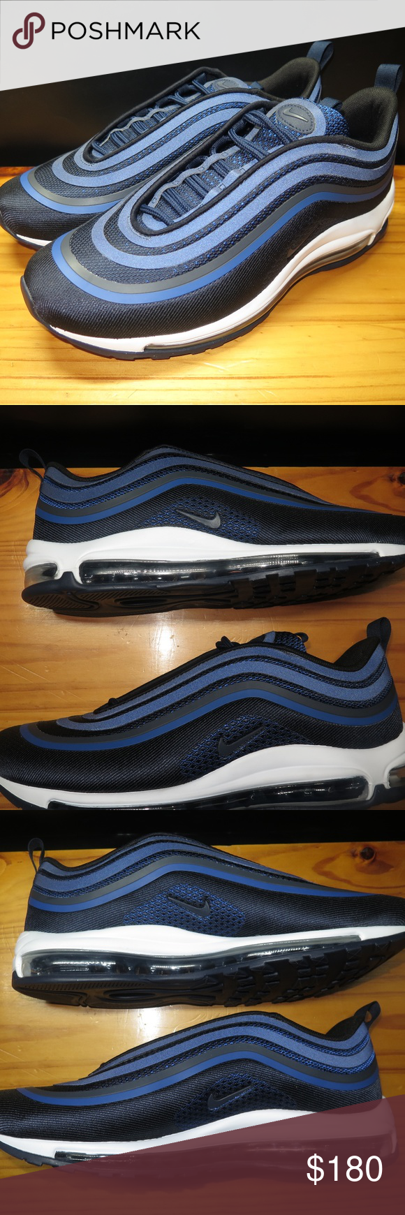 Nike Air Max 97 Ultra  17 Obsidian Navy Blue Brand New without Box Nike Air cb69e4a09fd3