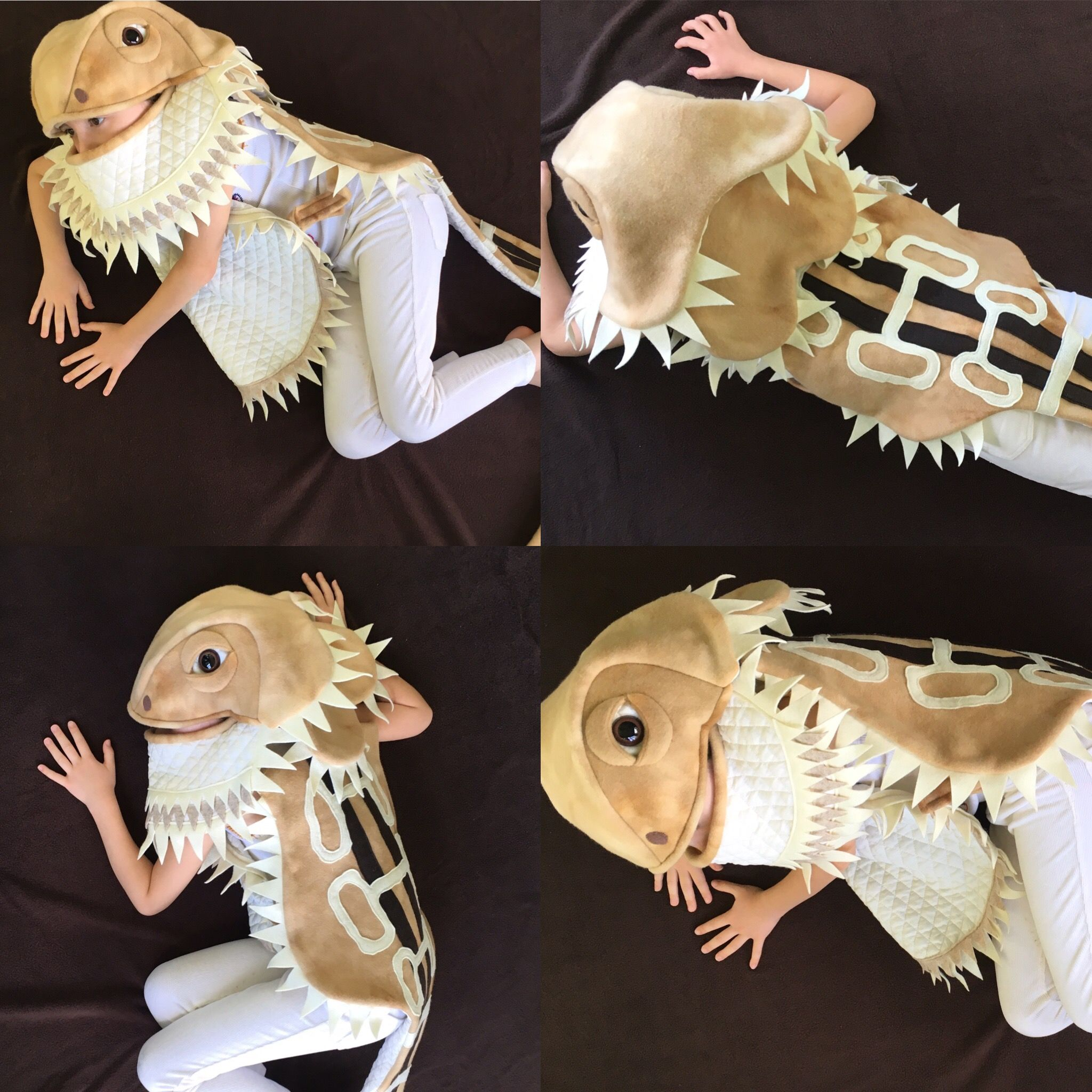 Bearded dragon Halloween costumes available September 2016 sew thrifty couture llc on Etsy & Bearded dragon Halloween costumes available September 2016 sew ...