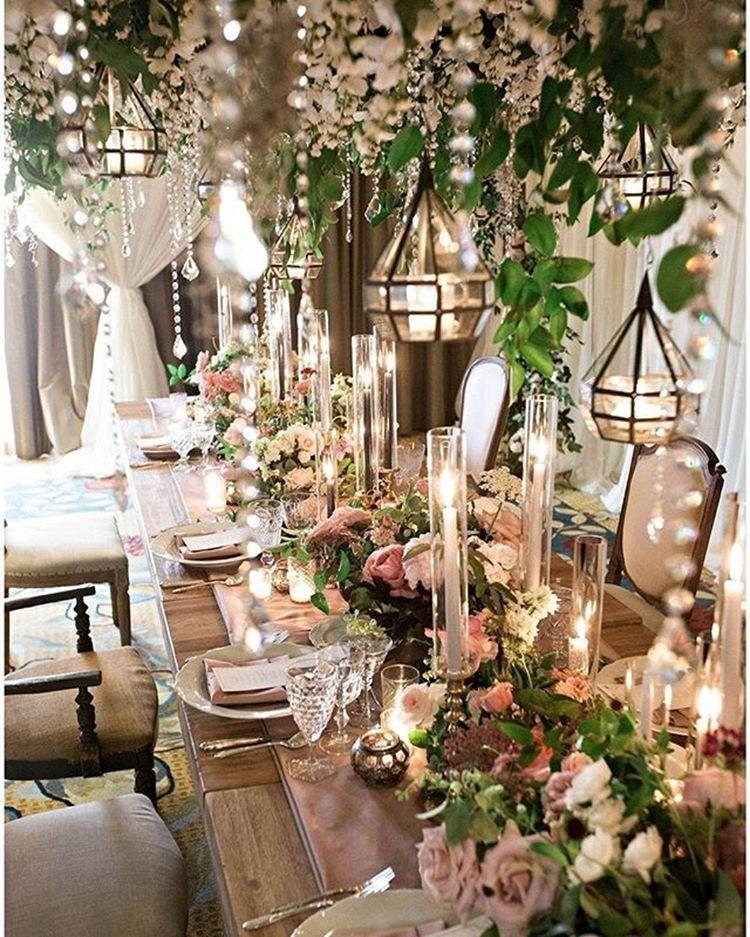 Every Fairytale Wedding Needs A Fairytale Reception