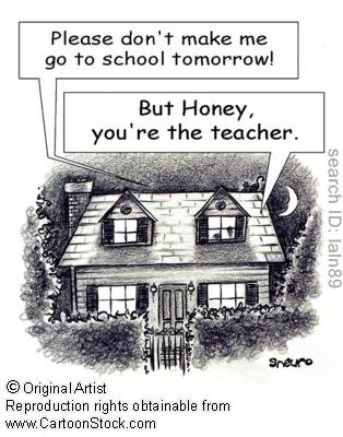School - an institution where teachers and pupils meet to make ...