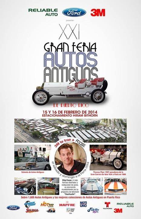 Gran Feria Autos Antiguos 2014 @ Estadio Hiram Bithorn, Hato Rey #sondeaquipr #feriaautosantiguos #estadiohirambithorn #hatorey #sanjuan