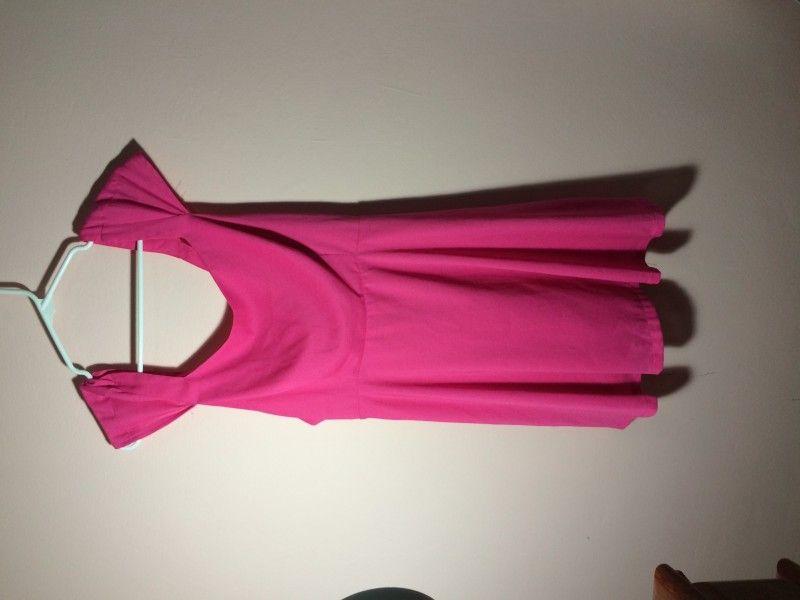 NAFL 25,00 | Pink bow dress fl 25 call whatsapp 5112311