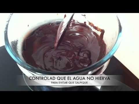 Como Fundir Chocolate Consejos Para Que Quede Perfecto Youtube