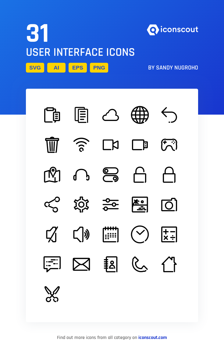 Download User Interface Icon Pack Available In Svg Png Eps Ai Icon Fonts In 2021 User Interface Interface Icon