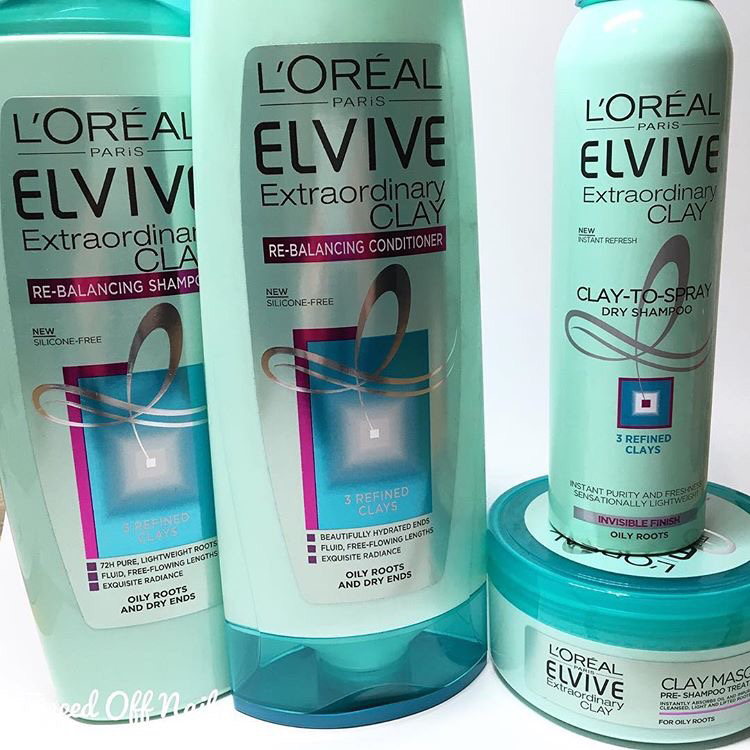 L Oreal Elvive Extraodinary Clay Review Loreal Loreal Hair Clay