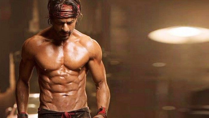 Shahrukh Khan Body In Happy New Year Wallpaper 1754 A Abs腹筋 48