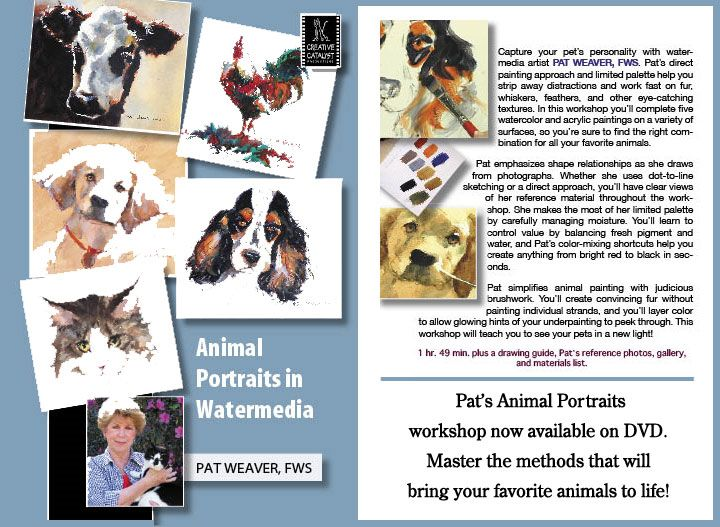 Pat Weaver Watercolor Workshops and Commissions