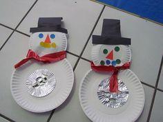 Manualidades de Navidad para nios Preescolar Pinterest