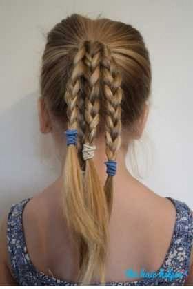 6 Easy Hairstyles For School That Will Make Mornings Simpler #Easyhairstyles,  #Easy #EasyHai...