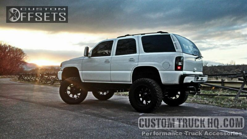 Wheel Offset 2005 Gmc Yukon Super Aggressive 3 Suspension Lift 9