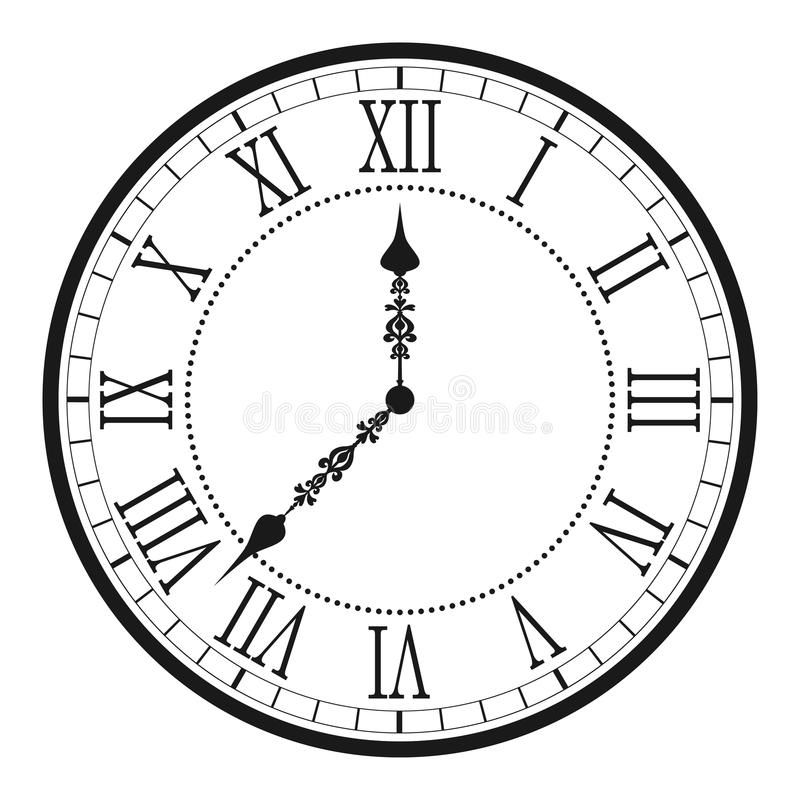 Vintage Grandfather Clock Drawing In 2020 Clock Drawings
