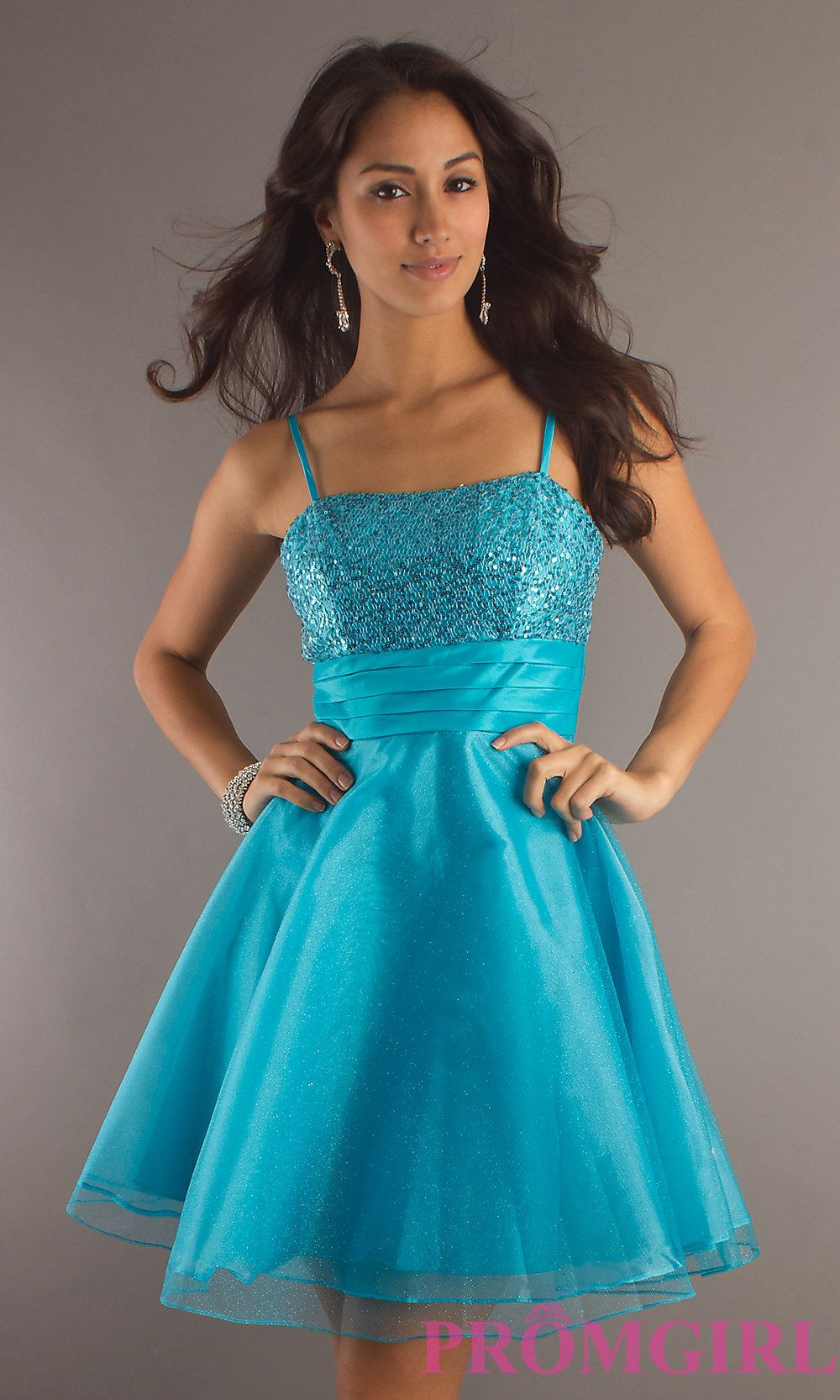 Short Prom Dresses for Teens | Dress Style: DQ-7730p Detail Image 1 ...