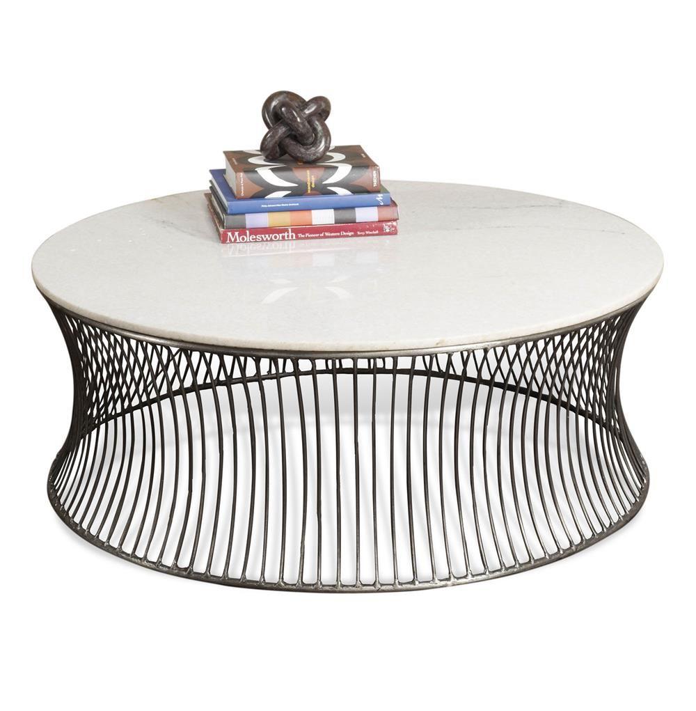 Pinera Circular Marble Coffee Table Contemporary Coffee Table Coffee Table Wood Coffee Table White [ 1021 x 1000 Pixel ]