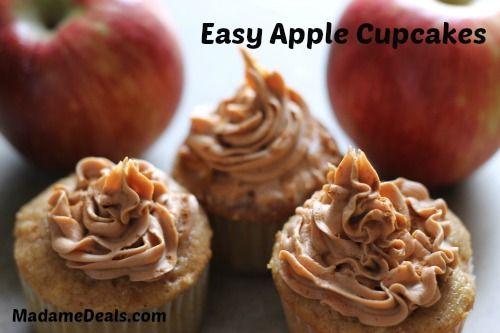 Easy to Make Apple Cupcakes Recipe