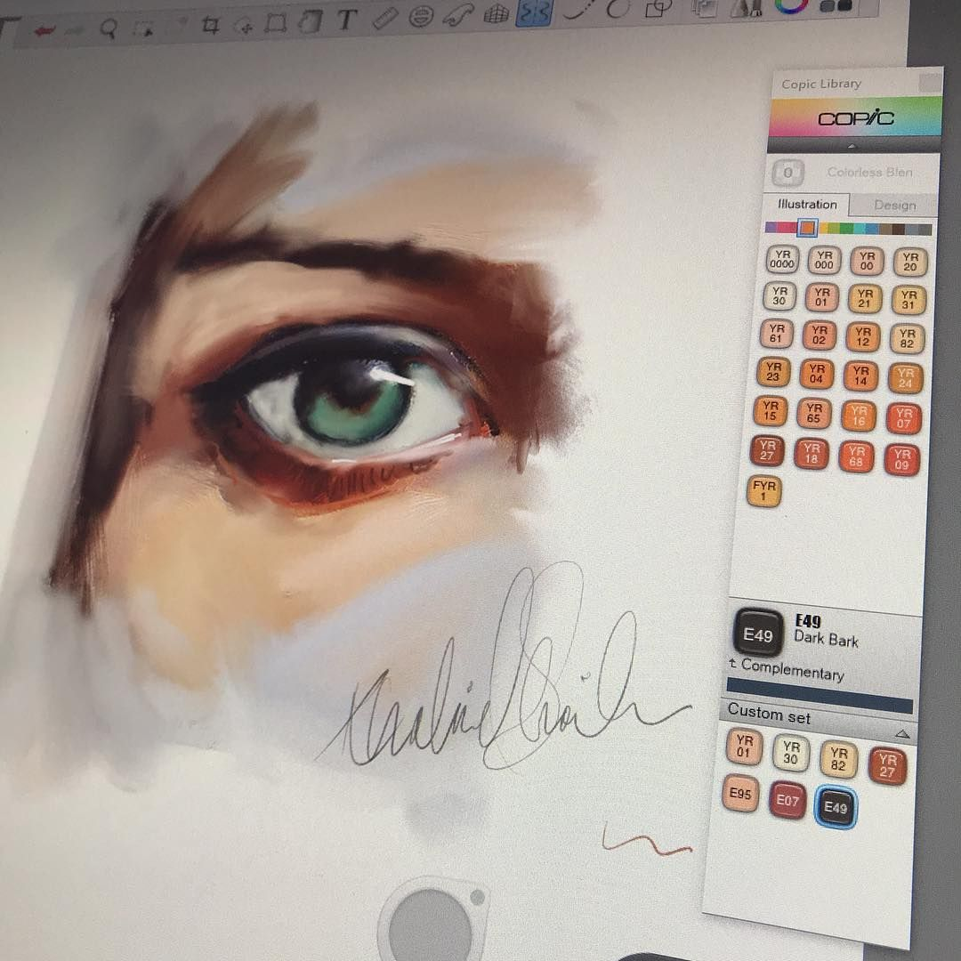 Simple Eye Autodesksketchbook Autodesk Sketching Doodles Artrage Comiccover Sketchbook Autodesk Sketchbook Tutorial Procreate Ipad Art Sketch Book