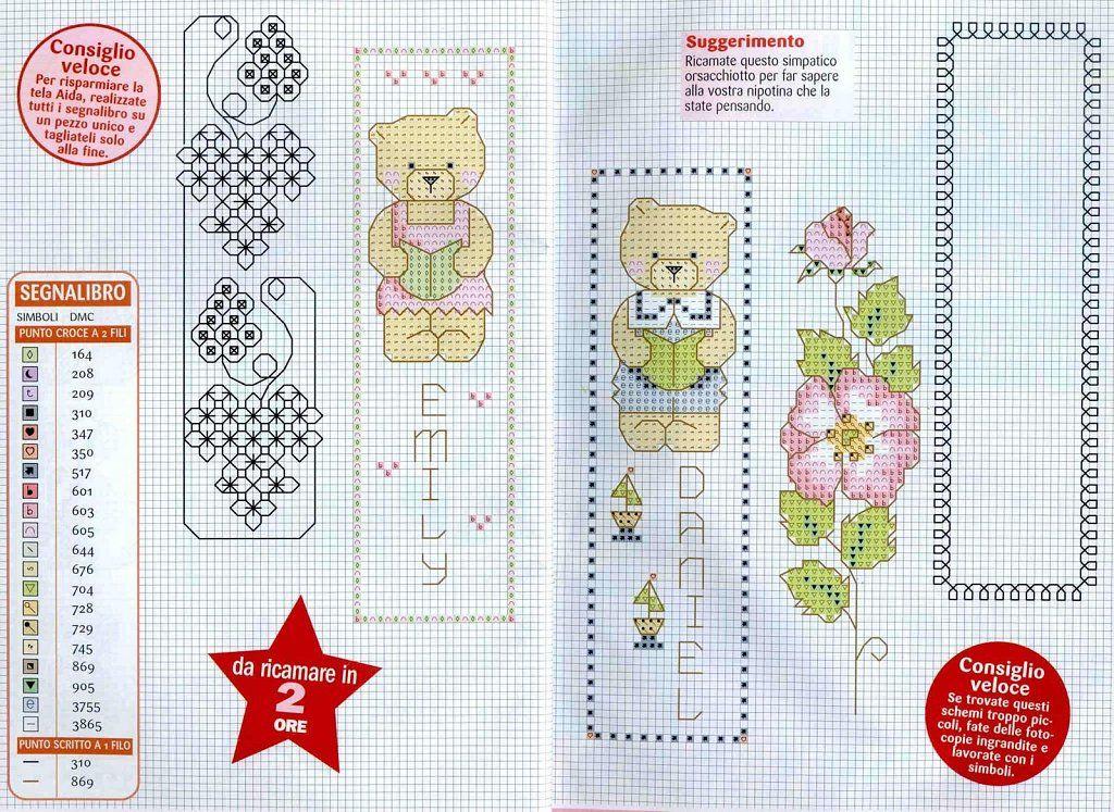 GRAFICOS PUNTO DE CRUZ GRATIS : MARCAPAGINAS(49) | patterns | Pinterest