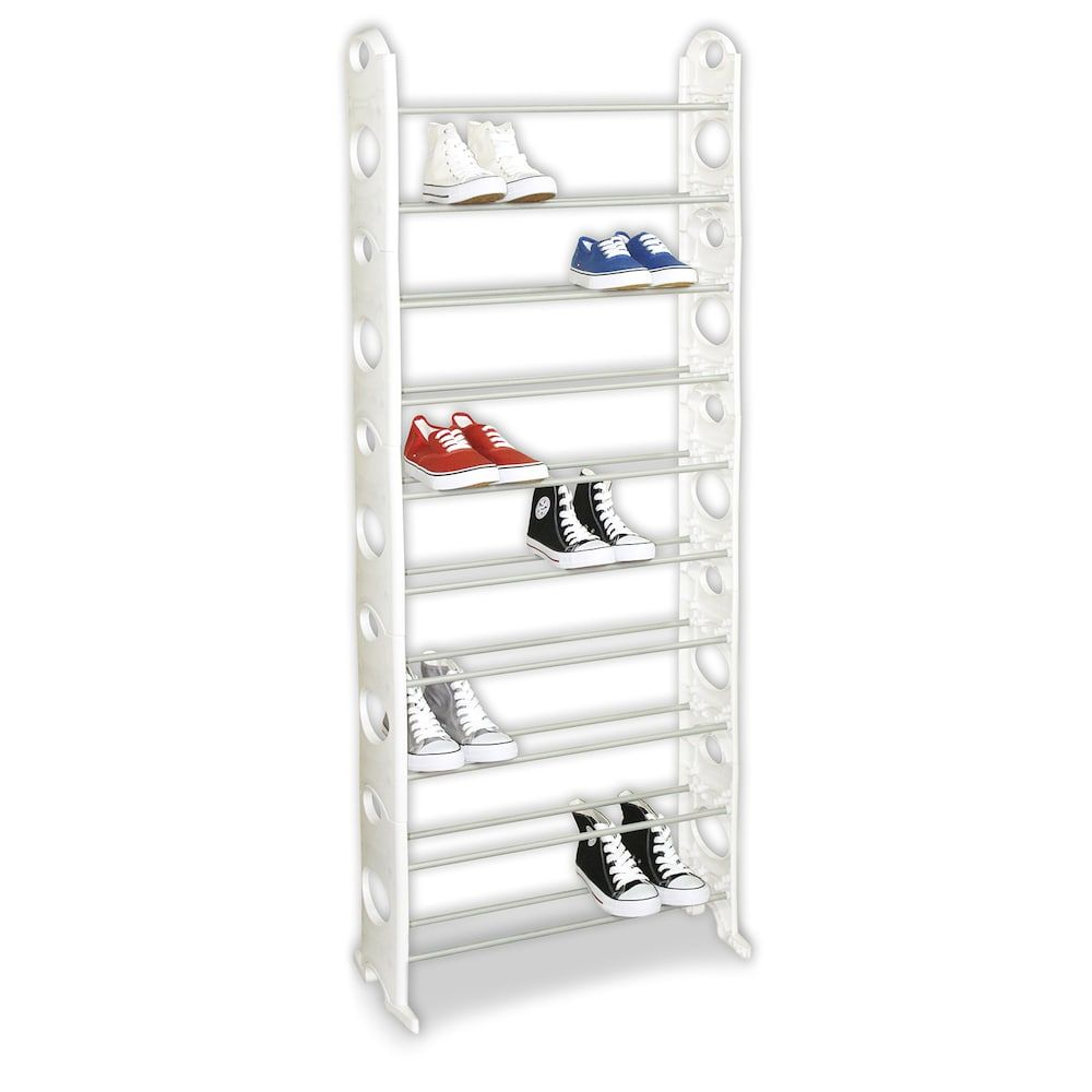 Sunbeam 30 Pair Shoe Rack Shoe Rack Shoes Pairs