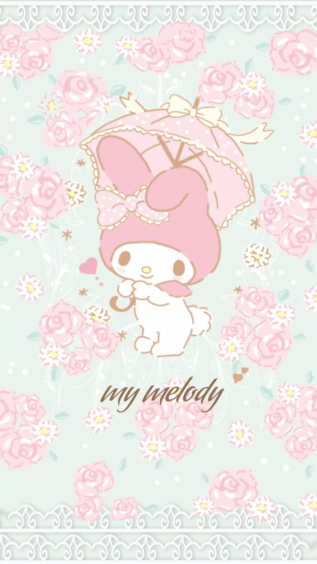 My melody wallpaper image by Giok Lien on Gambar lucu ...
