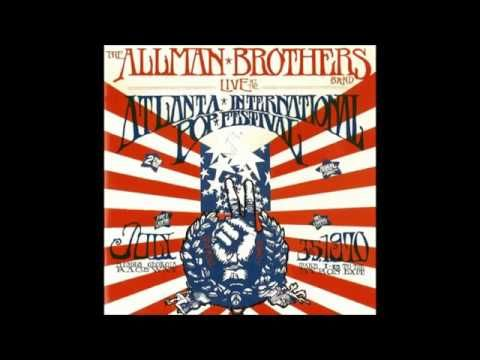 ALLMAN BROTHERS BAND -  LIVE AT THE ATLANTA INTERNATIONAL POP FESTIVAL J...