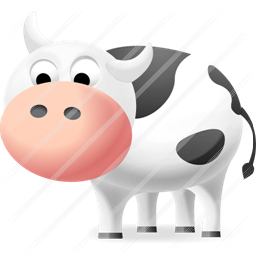 Cow Icon Cow Icon Icon Design Buy Icon