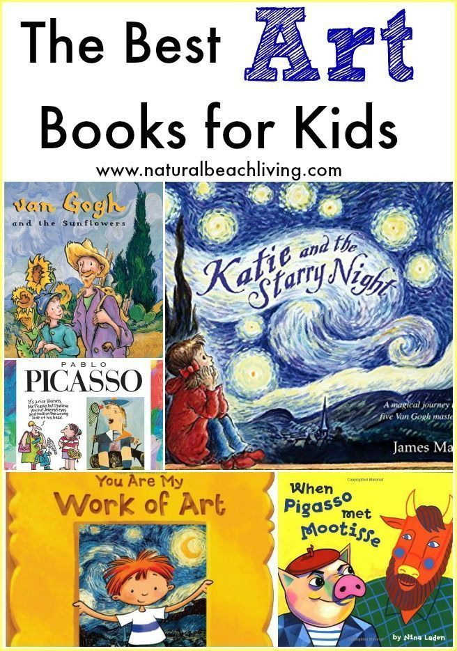 Photo of The Best Art Books for Kids – Natural Beach Living