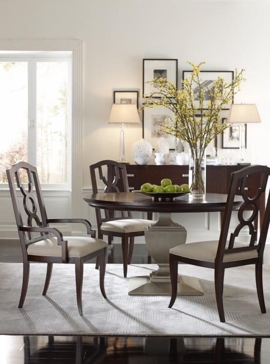 Highland House Furniture: HH20 315 CF   Orion Round Dining Table