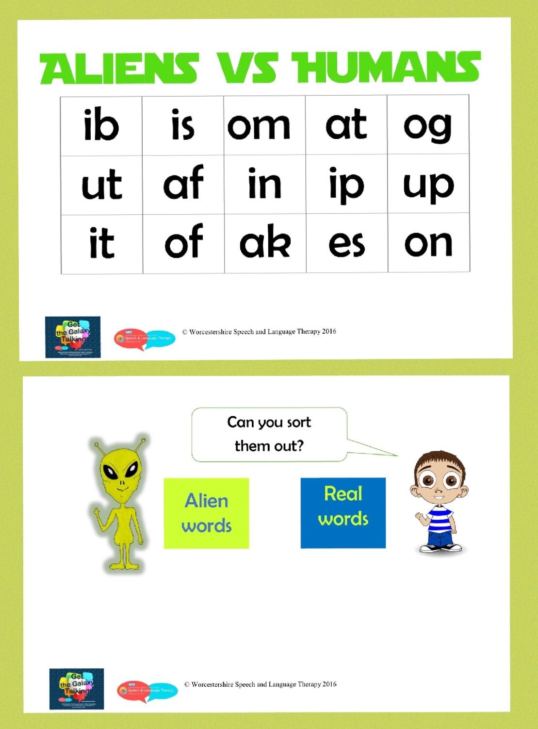 Synthetic phonics resource for children who find it hard. Can they ...