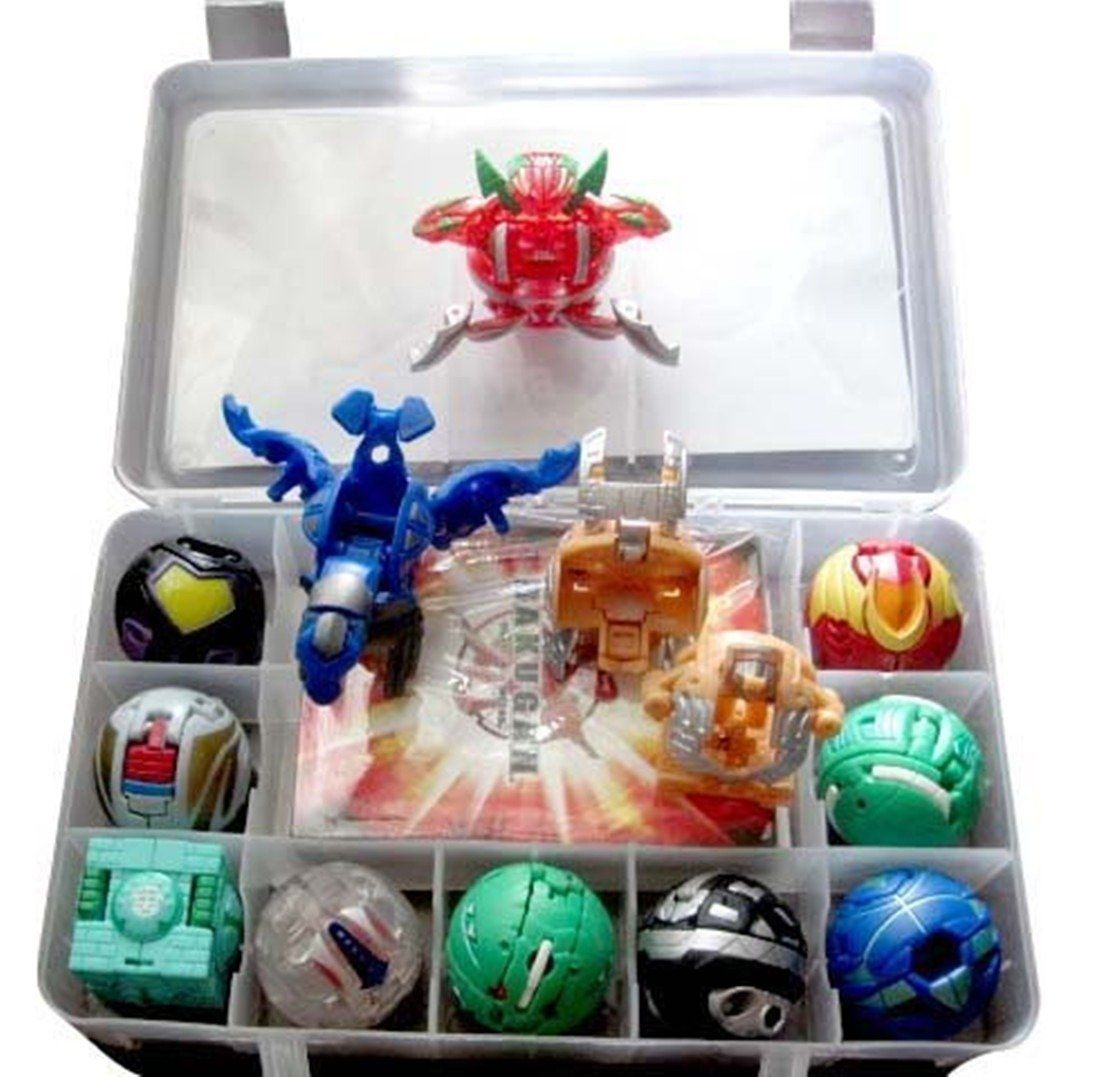 Amazon Com Bakugan Toy All Different 9 Metal Cards With