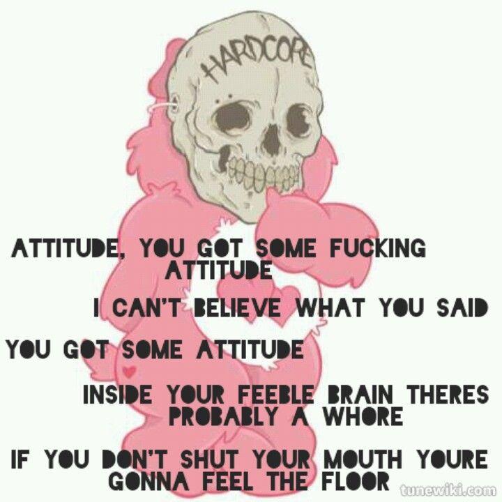 Misfits - Attitude Lyrics | MetroLyrics