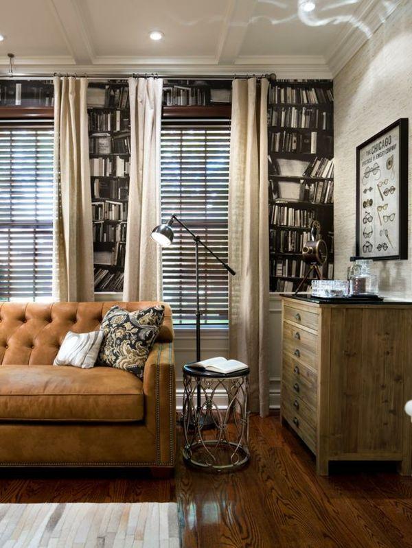 Gardinen im Wohnzimmer \u2013 Deko Ideen für jede Einrichtung - gardinen fürs wohnzimmer