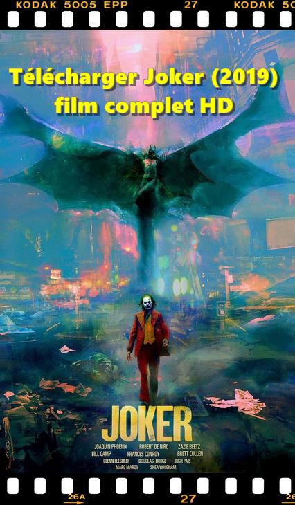 en français Télécharger Joker streaming VF (2019) film