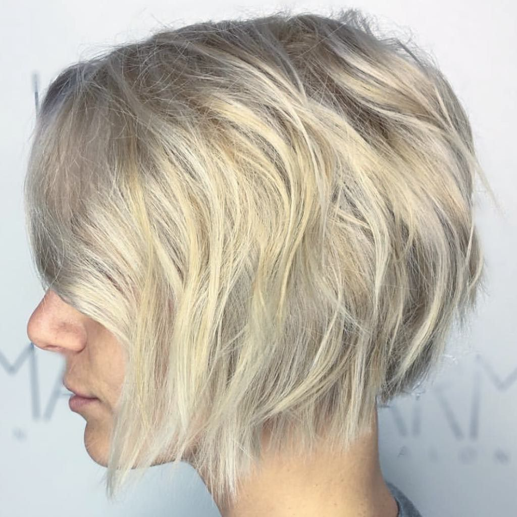 Dimensional Blonde With A Soft Taupe Contrast And A Perfect Bob