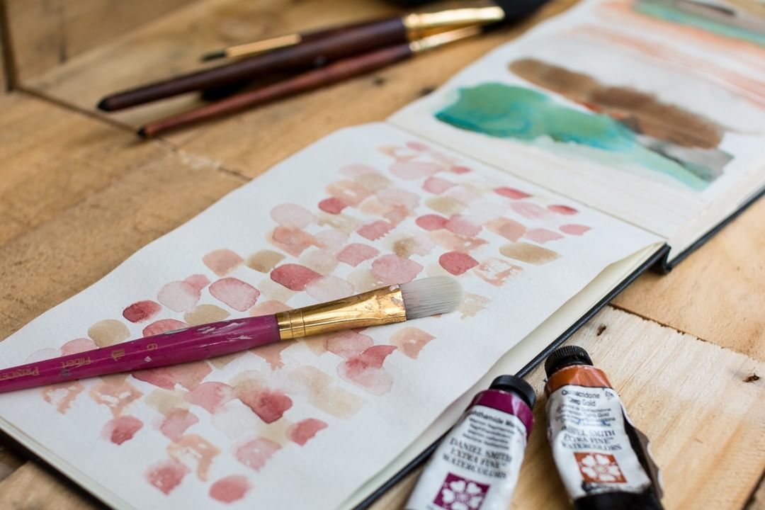 My Newest Online Class Watercolour Explorations Is Now Open For