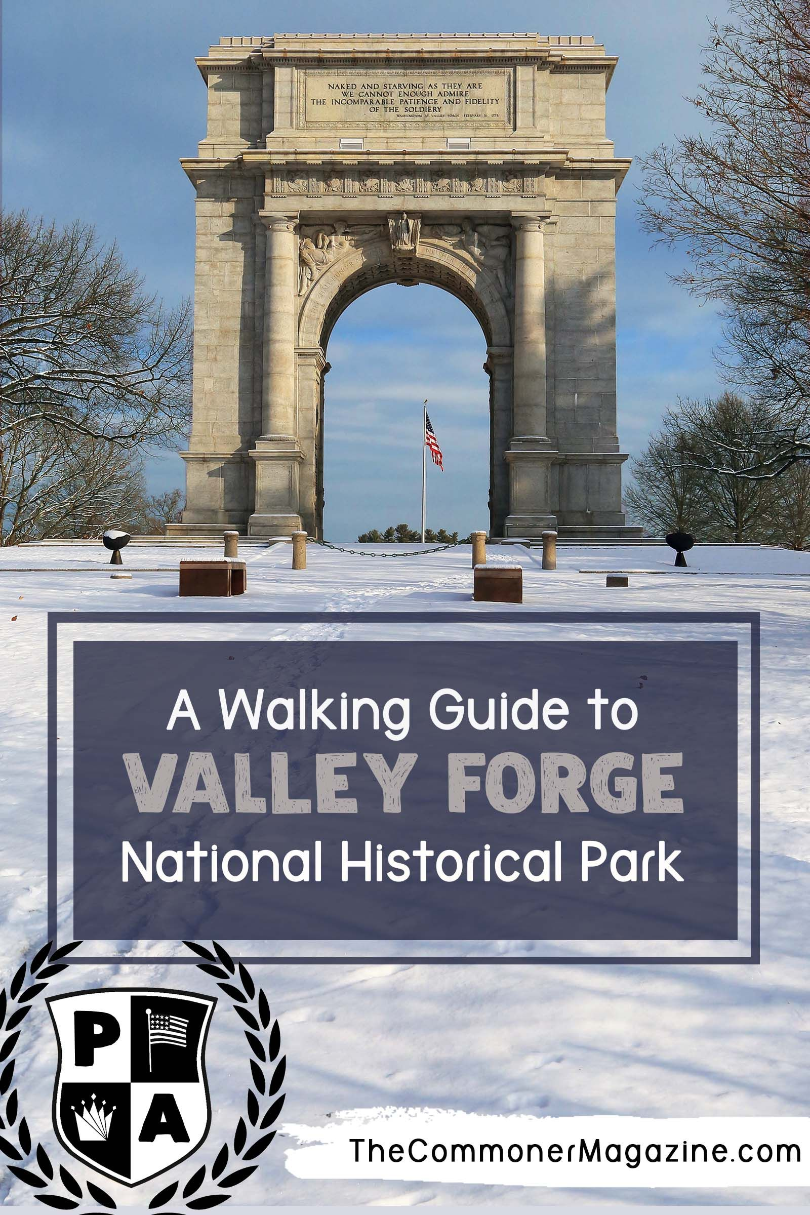Circumnavigating General Washington's Winter Encampment