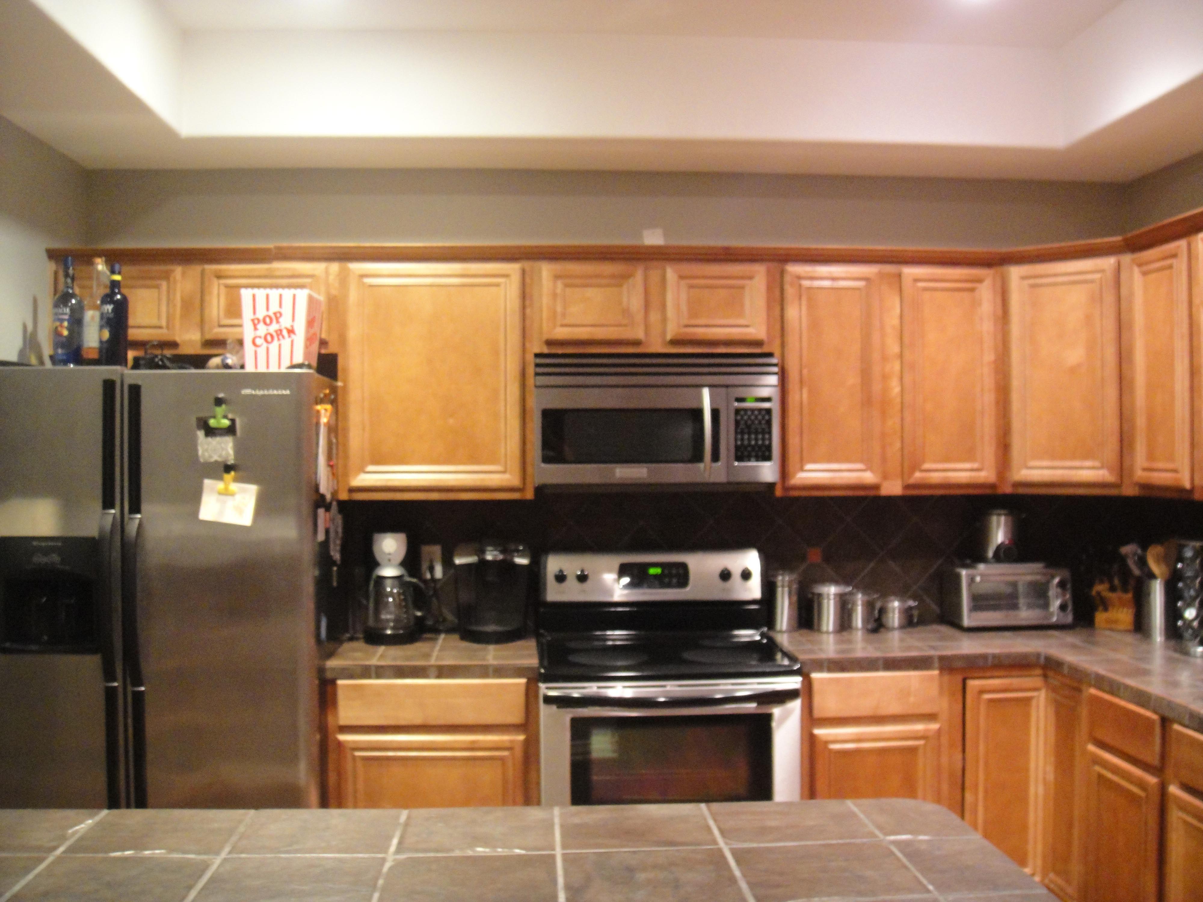 master bedroom kitchen colors with dark oak cabinets cabinet organization muffin cupcake pans drinkware stock soup multi pots dishwashers blenders - Multi Kitchen Ideas