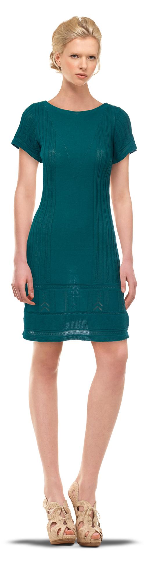 Cap Sleeved Sweater Dress $128