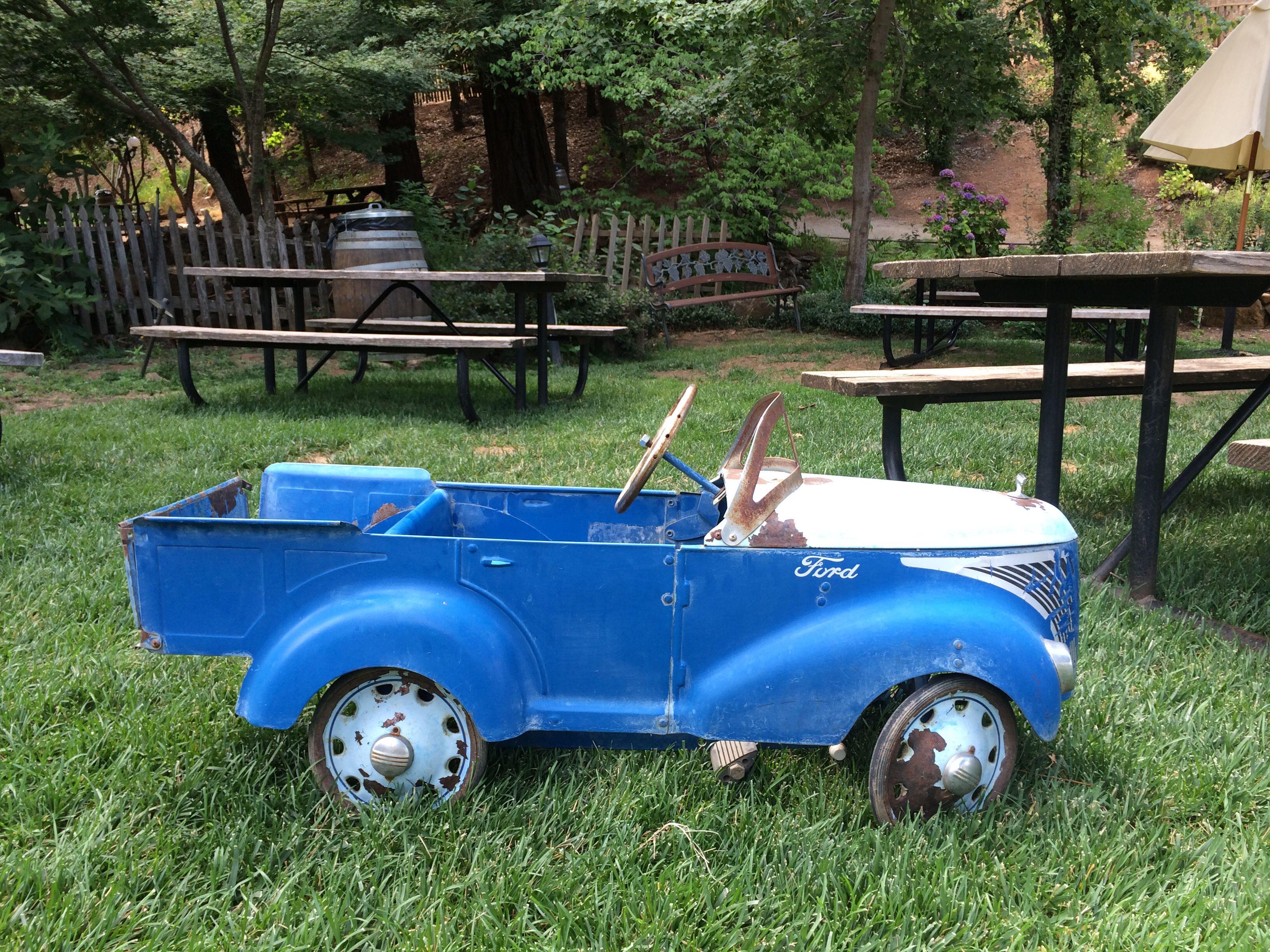 Love My Old Pedal Car Pedal Cars Vintage Pedal Cars Car