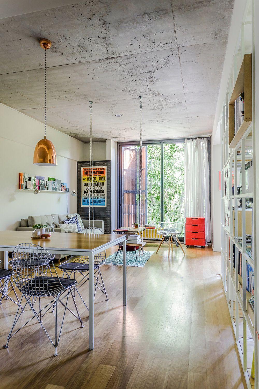 Un loft design et lumineux pour deux  Aménagement de pièce, Déco