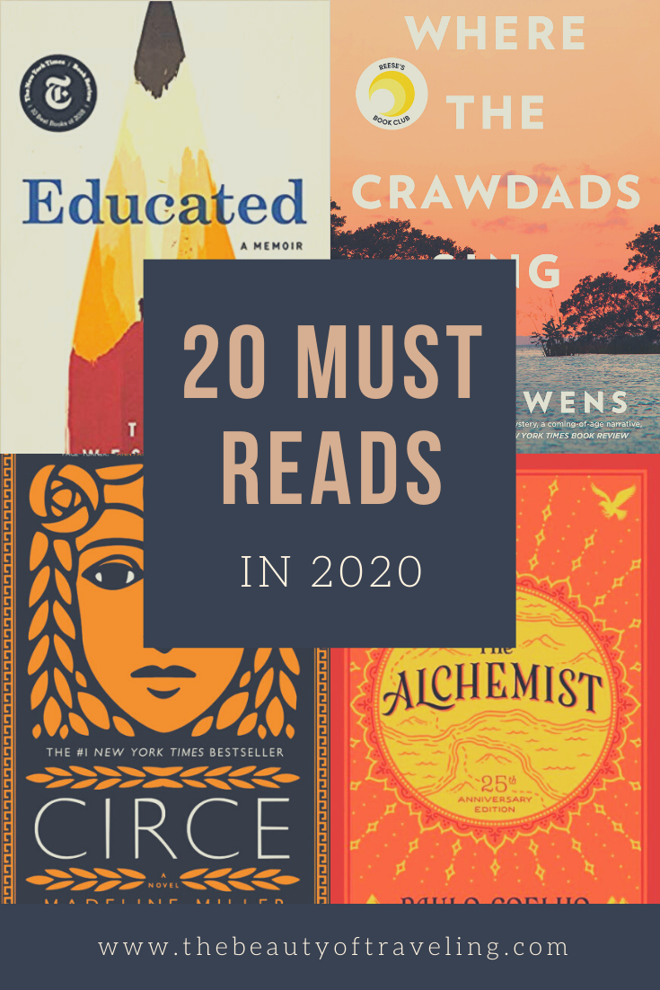 Looking for good books to read? This reading list shares the 20 best books to read in 2020. You'll find many great book recommendations from mystery, fantasy, memoir, historical-fiction, and more! | 20 Books You Should Read in 2020 | Book Recommendations 2020 | Reading List | Book List