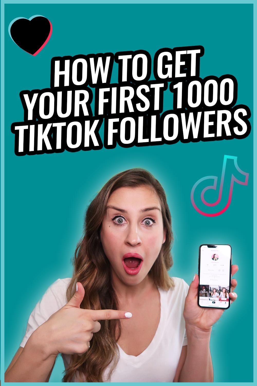 How To Get 1000 Followers On Tiktok In 2021 Blog Marketing Freelance Marketing Instagram Training